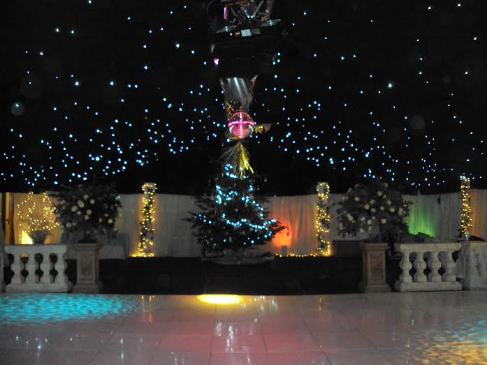 Christmas tree marquee