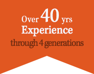 Over 40yrs Experience through 4 generations