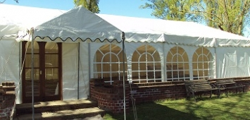Clear Framed Marquees